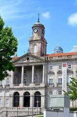 Eingang des Börsenpalstes in Porto