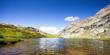 acque limpide di alta montagna