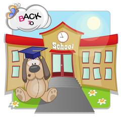 Dog and school