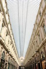 Bruxelles. Galeries Royales Saint-Hubert. Verrière