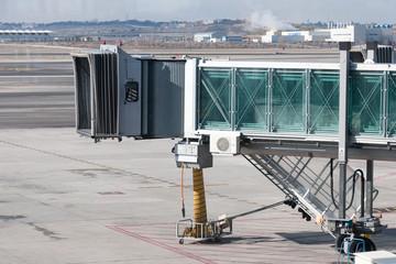 Modern Jet bridge