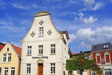 JEVER ( Ostfriesland ) - Stadtpanorama