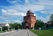 Old tower. Kremlin in Kolomna, Russia.