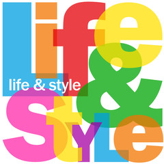 LIFE & STYLE Letter Collage (fashion guide trend blog)