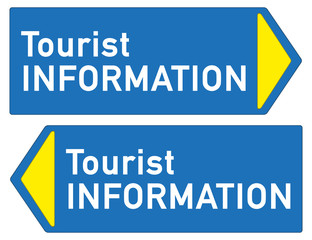 Schild Tourist Information