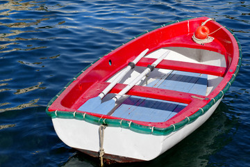 vintage wooden boat