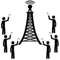 The phone antena