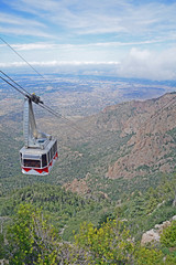 Luftseilbahn, Sandia Peak, New Mexico