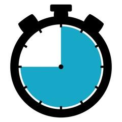 Stoppuhr: 45 Sekunden / 45 Minuten / 9 Stunden