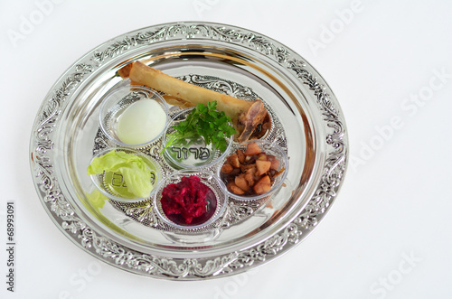 Passover Seder Plate - 68993091