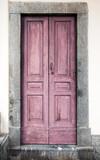 Fototapety vecchio portoncino rosa