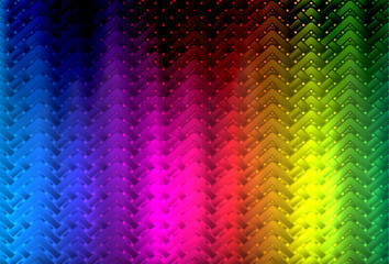 Bright geometric abstract pattern