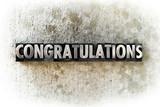 Fototapety Congratulations