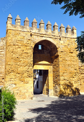 Puerta de Almodóvar, murallas de Córdoba, España