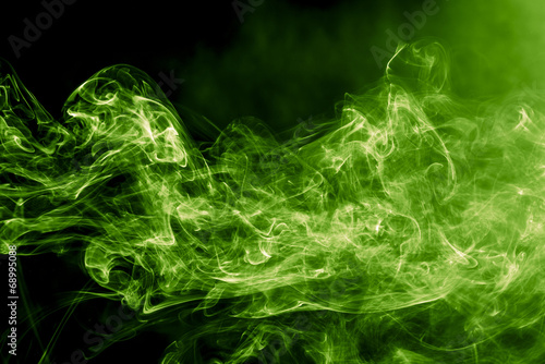 Foto op Canvas Rook Toxic Smoke