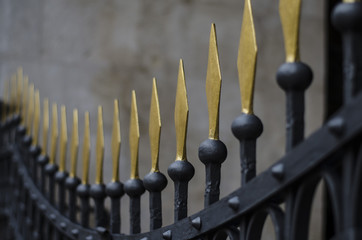 trogir cathedral fence