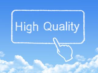 High Quality message cloud shape