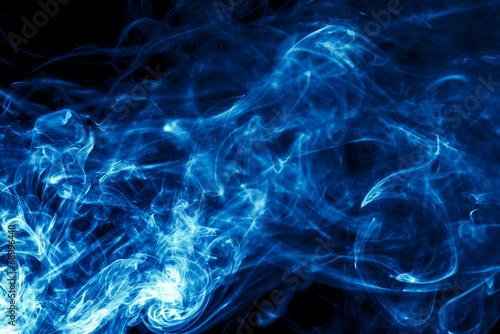 Staande foto Rook Water Smoke