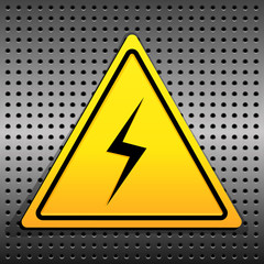 Set Warning Icons, Electricity
