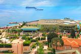 View over Monaco beach, Cote d'Azur