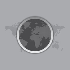 world map theme