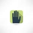 human palm icon