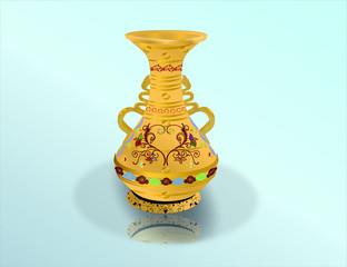 altın vazo