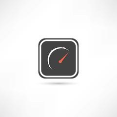 speed sensor icon