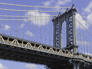 The Manhattan Bridge, New York City