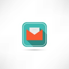 sms envelop icon