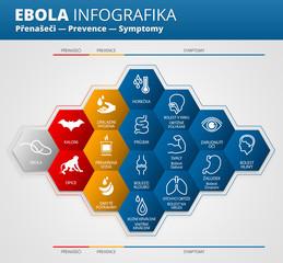 Ebola virus infografika česky