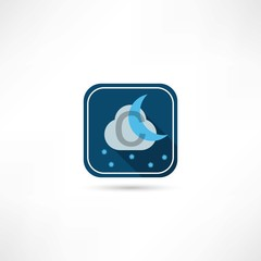 night weather forecast icon