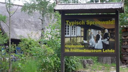 Spreewald, Freilandmuseum in Lehde