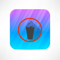 trashcan icon