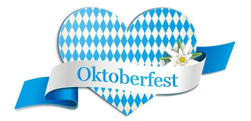 Oktoberfest - Signet, Rautenherz