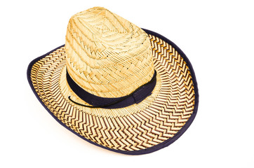 Bamboo woven hat