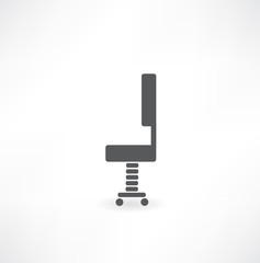 office chair - vector illustration