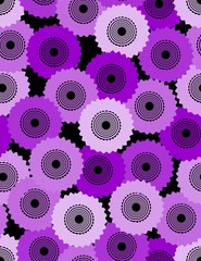 Seamless abstract background composed from cogwheel
