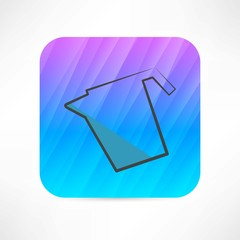 pitcher of water icon