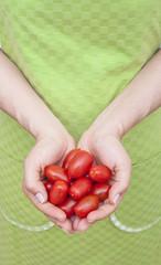avuç içinde domates