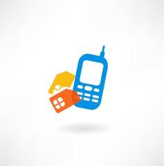 Mobile and simkarty icon