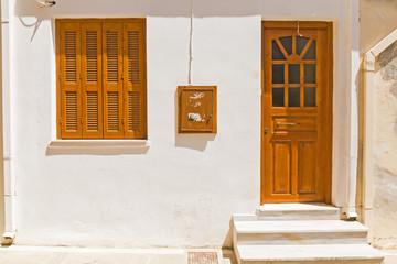 Mediterranean architecture detail