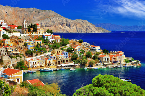 Foto op Plexiglas Eiland wonderful Greece. Symi island , Dodecanese