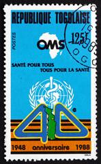 Postage stamp Togo 1988 Emblems