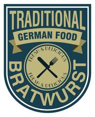 bratwurst stamp