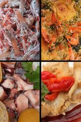 Cuisine de la Mer : Poisson Langoustine Poulpe..