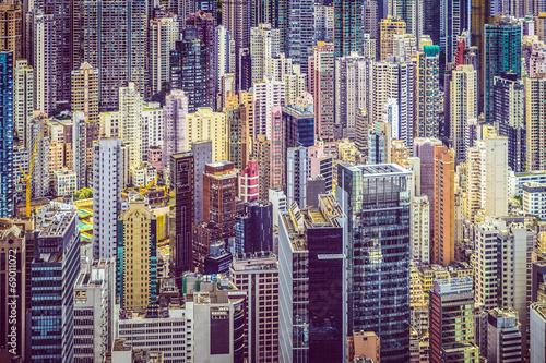 Fotobehang Hong-Kong Hong Kong China Cityscape