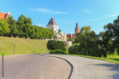 Szczecin - Wały Chrobrego