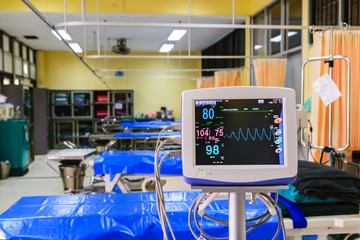 vital signs monitor in hospital