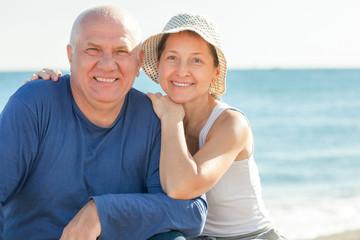 positive mature couple